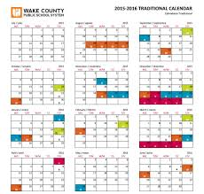 wake county traditional calendar 2016 2016 blank calendar design
