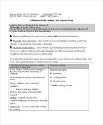 lesson plan template qld differentiated instruction lesson plan template tire driveeasy co