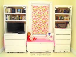 Diy Bookcase Door Diy Bifold Door And Dresser Bookcases Thrifty Rebel Vintage