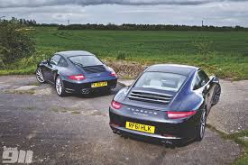 porsche 911 back seat porsche 997 v porsche 991 head to head total 911