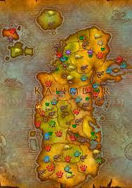 kalimdor map battle pet leveling guide kalimdor