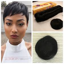 short bump weave hairstyles best quality brazilian short virgin human hair 27 pieces short