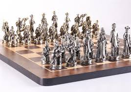 metal chess sets chess house