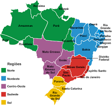 map of brazil maps of brazil