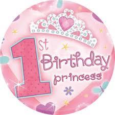 Cake Decorations For 1st Birthday Girls 1st Birthday Edible Cake Topper