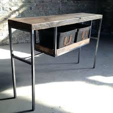 wood and iron sofa table metal and wood entry table metal and wood sofa table entry tables