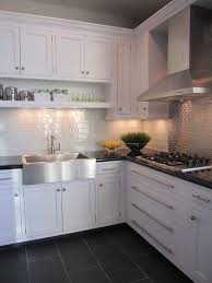white kitchen cabinets black tile floor grey kitchen floor tiles ceramic floor ceramic tiles