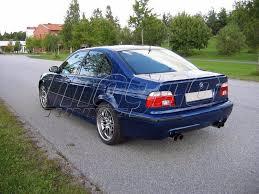 bmw e39 rear bmw e39 m5 tech rear bumper