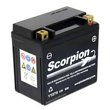 ytz7s battery scorpion 12 volt motorcycle batteries