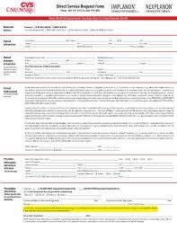 cvs caremark nexplanon application fill online printable