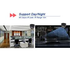4ch 1300tvl cctv dvr home security system video ir cut night