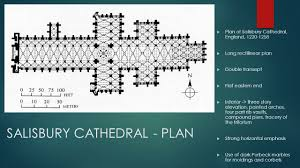 Salisbury Cathedral Floor Plan by Gothic Europe Gardner Chapter 18 4 Pp Ppt Download