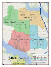 Zip Code Map Fort Worth by Door Hanger Advertising Dallas Fort Worth Tx Delivery Areas