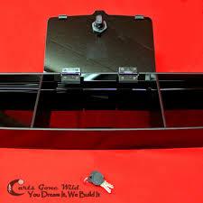 ezgo rxv dash golf cart console locked storage u0026 cup holders