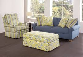 Stretch Slipcovers For Sofa by Furniture Pretty Slipcovered Sectional Sofa For Comfy Your Living