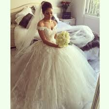poofy wedding dresses yasa 5089 see through bridal dress satin dress wedding