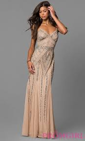 great gatsby inspired prom dresses 2 image of sequin embellished prom dress with empire waist
