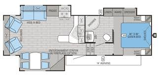 jayco fifth wheel floor plans valine jayco fifth wheel floor plans 2016