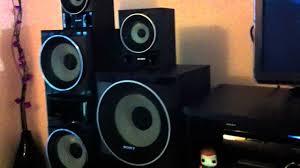 harga speaker home theater my new sony super muteki and panasonic home theatre setup youtube