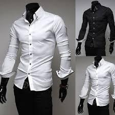 cheap slim fit white dress shirt men find slim fit white dress