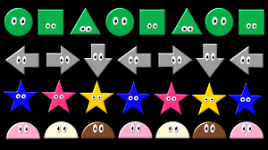shape pattern year 2 patterns 2 abc pattern shapes colors direction the kids