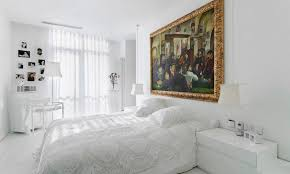 Mirrors Above Nightstands How To Give Character To A Bedroom With A Painting Over The Bed
