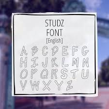 studz font greekhouse of fonts
