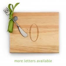 monogram cheese board monogram cheese board spreader amanda monograms