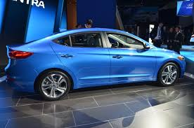 hyundai accent 201 2017 hyundai elantra debuts in l a with design engines