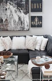 Living Room Ideas With Black Leather Sofa Living Room Decor With Black Leather Sofa Meliving E12e61cd30d3