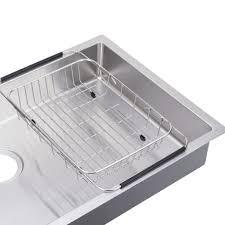 shallow kitchen sink bai 1248 33 shallow stainless kitchen sink single bowl und mnt
