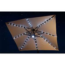 Patio Umbrella With Solar Led Lights by Patio Umbrellas Royal Swimming Pools