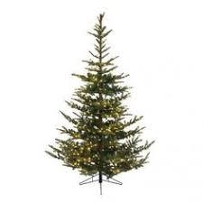 9 u0027 layered noble fir artificial christmas tree unlit walmart