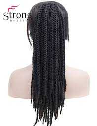 crochet braid ponytail strongbeauty twist crochet braid hair ponytail afro black