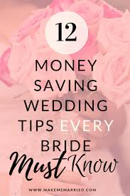 Planning My Own Wedding If You Need To Know How To Save Money On A Wedding This Is The
