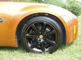 nissan 370z black rims stock rims that i had custom painted nissan 350z forum nissan