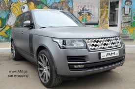 wrapped range rover range rover anthracite car wrapping auto am ge
