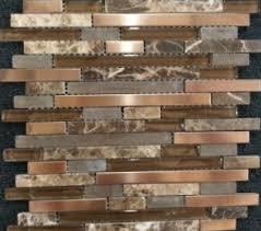 Copper Penny Tile Backsplash - kitchen charming copper backsplash kitchen ideas copper
