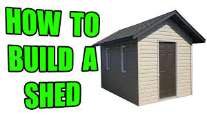 Office In A Shed How To Build A Shed On A Concrete Pad Youtube