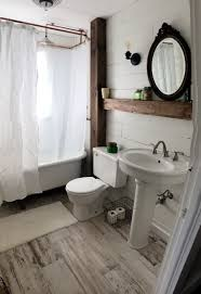 farmhouse style bathroom shiplap bathroom farmstyle redo http