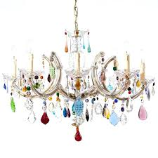 Glass Chandeliers For Dining Room Colored Glass Chandelier Astounding Funky Modern Chandeliers For