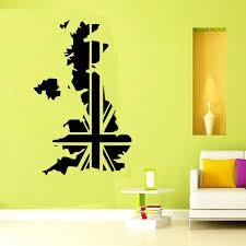wall stickers uk bedroom buy uk map england vinyl wall sticker wall art download