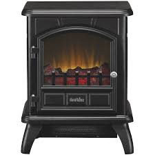 Electric Fireplace Stove Duraflame Freestanding Infrared Quartz Fireplace Stove Black