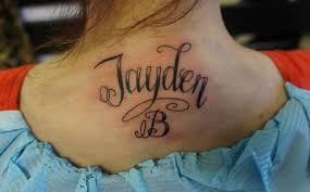 neck name design tattoomagz