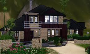 Inspired Homes The Sims 3 House Designs Asian Inspired Youtube