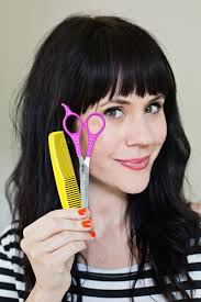 tips for cutting your own bangs at home u2013 a beautiful mess