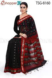 bangladeshi jamdani saree online tangail gas silk jamdani saree tsg 8160 online shopping in