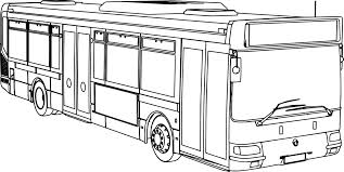 renault bus renault agora ratp bus coloring page wecoloringpage