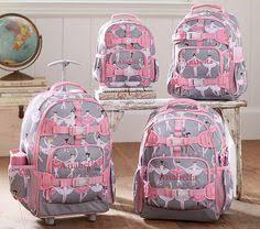 Pottery Barn Mackenzie Backpack Mackenzie Aqua Dotty Foil Heart Backpack Pottery Barn Kids