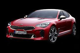 kia turns up the heat new stinger fastback unveiled in detroit by